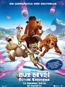 Buz Devri 5 – Ice Age: Collision Course Turkce Dublaj 720p