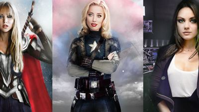 Yenilmez Kahramanlar Cinsiyet Değiştirirse!