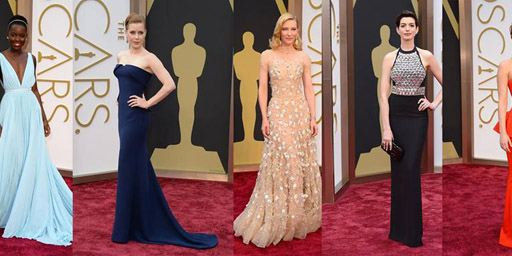 2014 Oscar Ödül Töreninden Kırmızı Halı Görüntüleri!