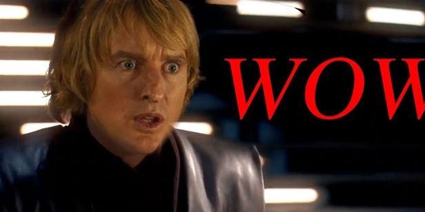 Star Wars Düellosuna Owen Wilson Efekti!