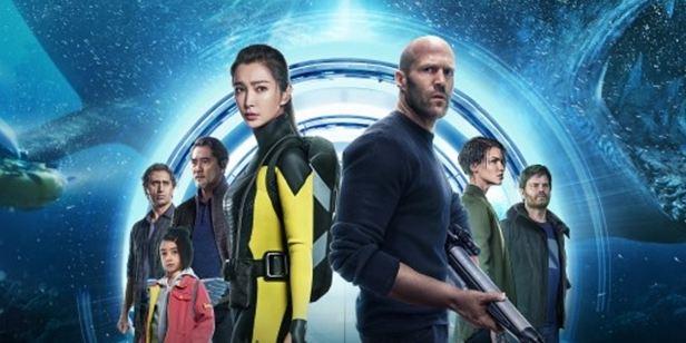 """Jason Statham'lı """"Meg: Derinlerdeki Dehşet"""" Box Office Zirvesine Yerleşti"""