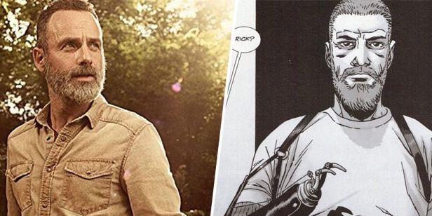 Hangi 'The Walking Dead' Yıldızı Çizgi Romandaki Karakterine Benziyor?