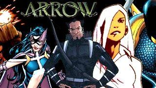 Arrow'daki DC Comics Karakterleri