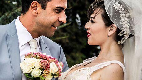 Bir Erkek Bir Kadın Bir Çocuk Düğün Fotoğrafları