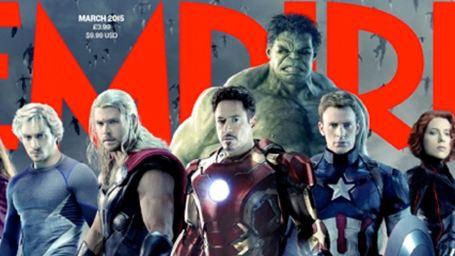 Avengers Ekibi Empire Kapağında!