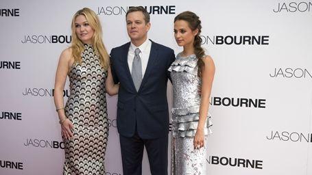 Jason Bourne'dan Renkli Gala Görüntüleri!