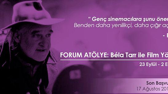 Antalya Film Forum'dan Béla Tarr Atölyesi!