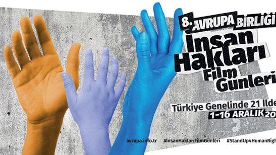 Avrupa Birliği İnsan Hakları Film Günleri Başlıyor!