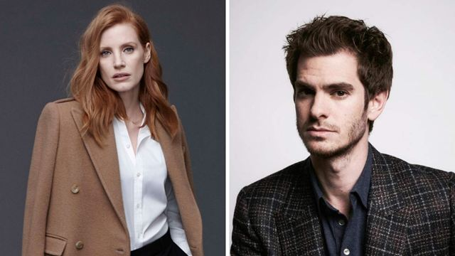 "Jessica Chastain ve Andrew Garfield ""The Eyes of Tammy Faye""de!"