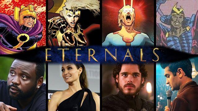 "Merakla Beklenen Marvel Filmi ""Eternals""da Kim Kimdir?"