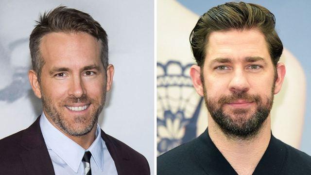 """Ryan Reynolds ve John Krasinski """"Imaginary Friends"""" İçin Görüşüyor!"""