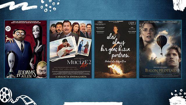 """Vizyondaki Filmler: """"Addams Ailesi"""", """"Alev Almış Bir Genç Kızın Portresi"""""""
