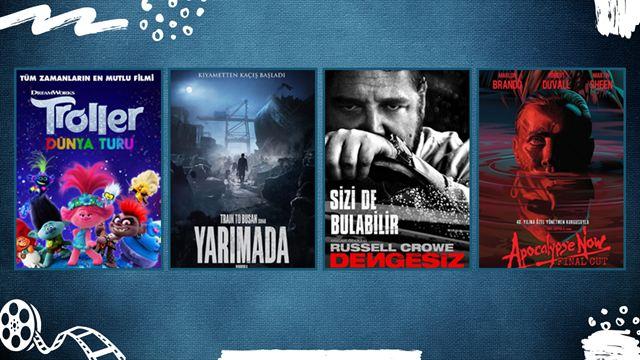 """Vizyondaki Filmler: """"Troller Dünya Turu"""", """"Yarımada"""", """"Kulübe"""""""
