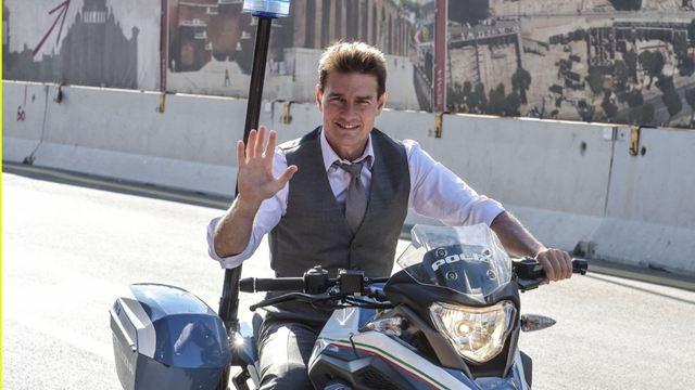 Tom Cruise, Mission Impossible 7'nin Roma Setinde!