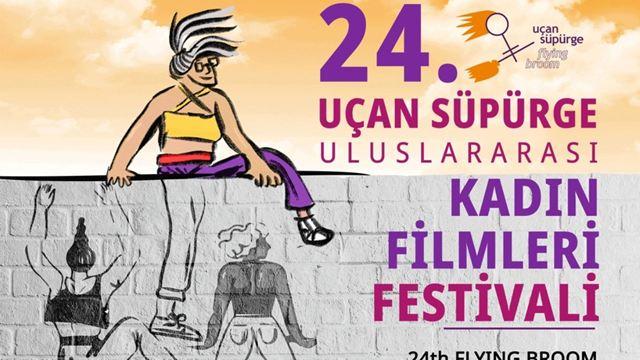 Uçan Süpürge Kadın Filmleri Festivali Afişi Yayında!