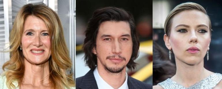 Noah Baumbach'ın Yeni Filmine Laura Dern, Adam Driver ve Scarlett Johansson Katıldı!