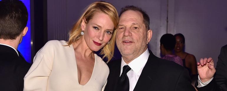 Uma Thurman Hollywood Taciz Skandalları Hakkında Ateş Püskürdü
