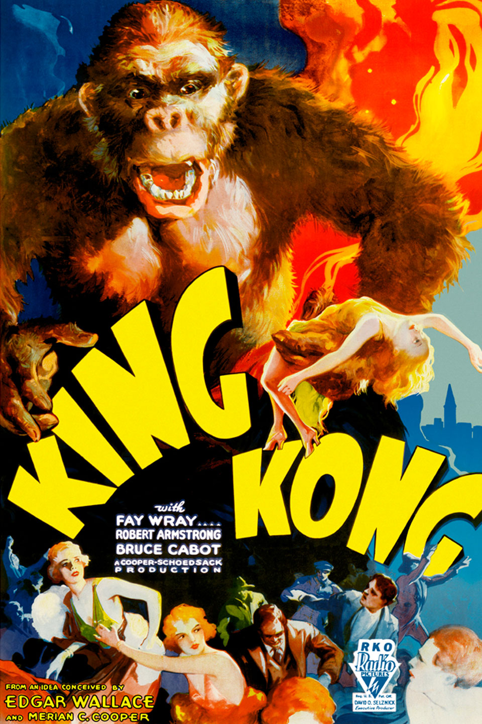 "an analysis of the music in the film king kong from 1933 The symbolism of king kong by harry  the movie was originally released in 1933,  the words ""kill king kong"" and the initials kkk appear at the end of the film."