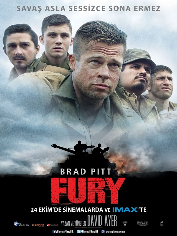 Fury Film 2014 Beyazperdecom