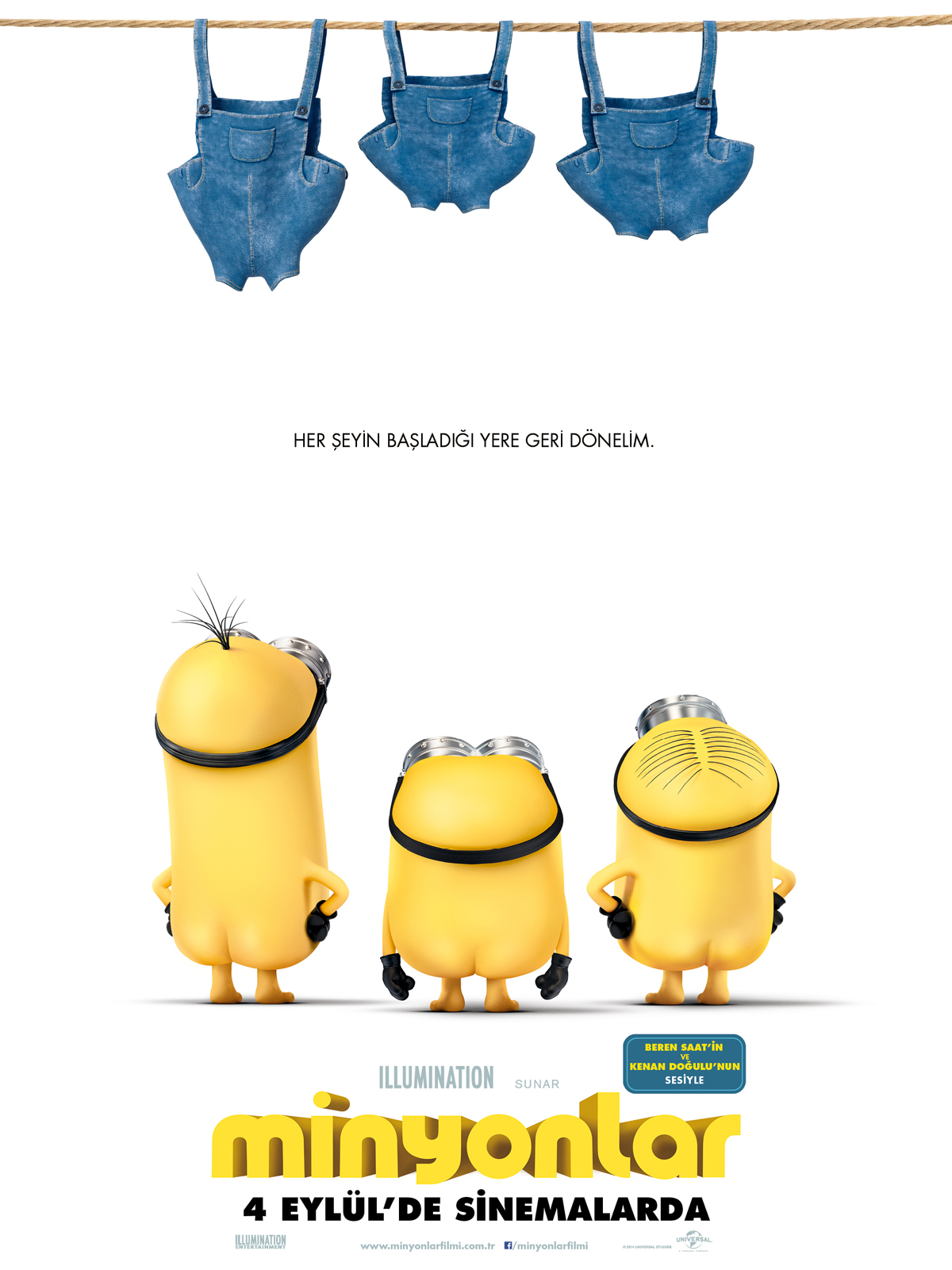 Minyonlar–Minions (2015)İzle