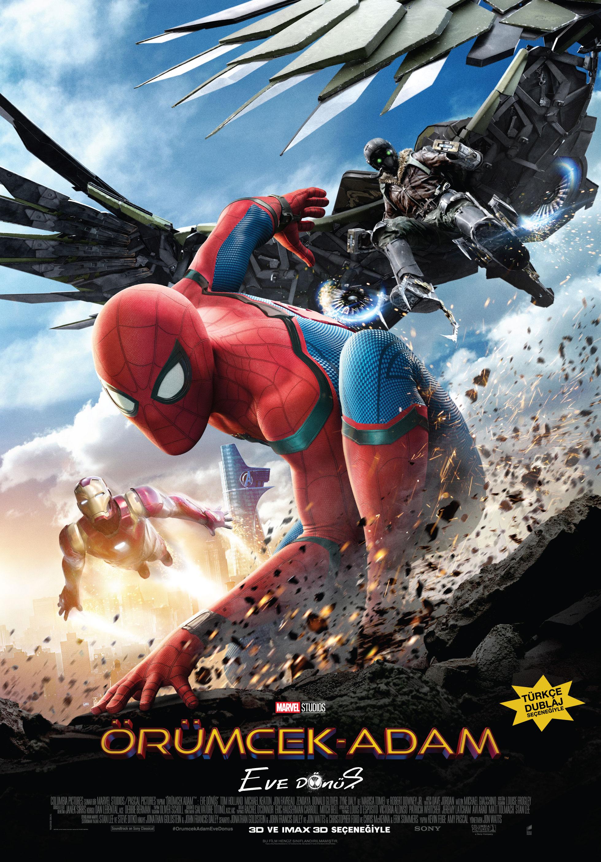 örümcek Adam Eve Dönüş Spider Man Homecoming Beyazperdecom