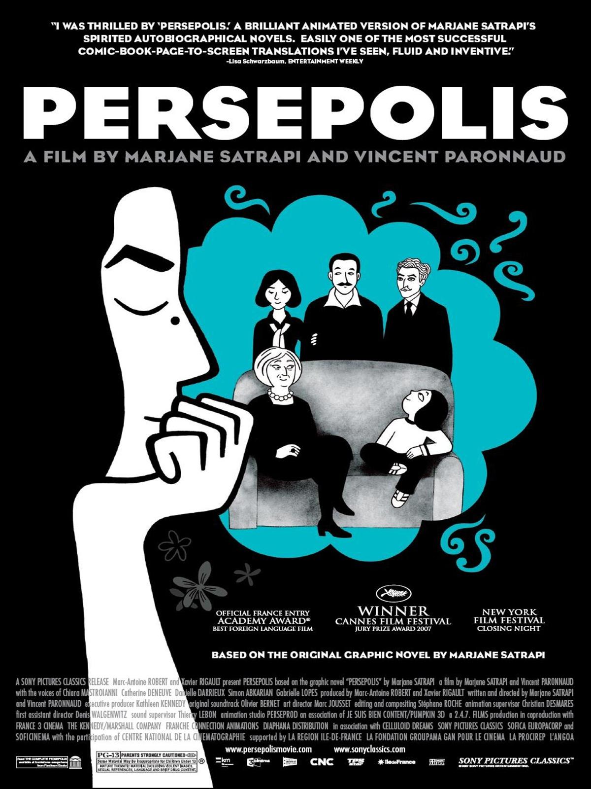 Image result for Persepolis filmi
