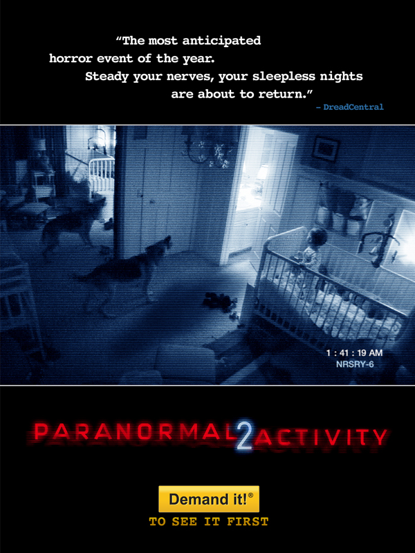 paranormal activity 2 ozet