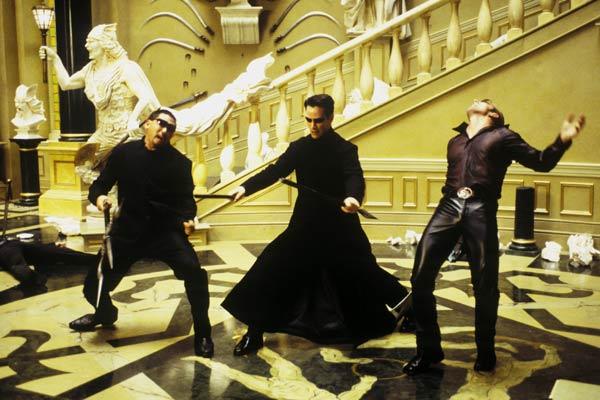 Matrix Reloaded : Fotograf Keanu Reeves, Ousaun Elam