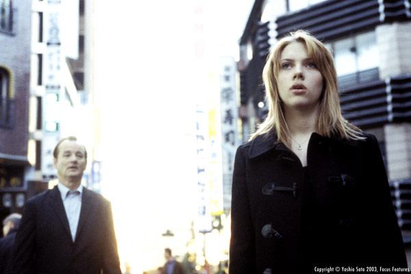 Fotograf Bill Murray, Scarlett Johansson