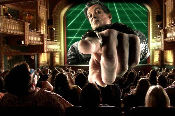 Spy Kids 3-D: Oyun Bitti : Fotograf Sylvester Stallone