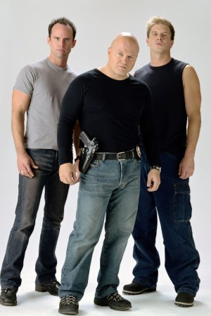 The Shield : Fotograf Kenny Johnson, Michael Chiklis, Walton Goggins