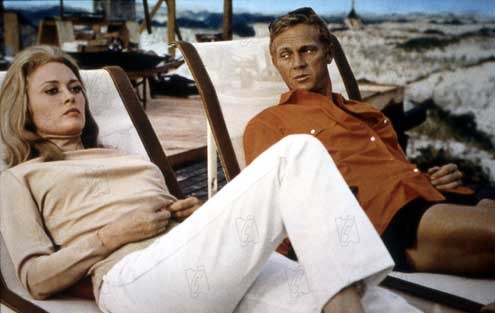 Thomas Crown Affair, The : Fotograf Faye Dunaway, Norman Jewison, Steve McQueen