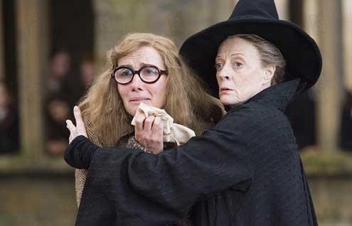 Harry Potter ve Zümrüdüanka Yoldasligi : Fotograf Emma Thompson, Maggie Smith