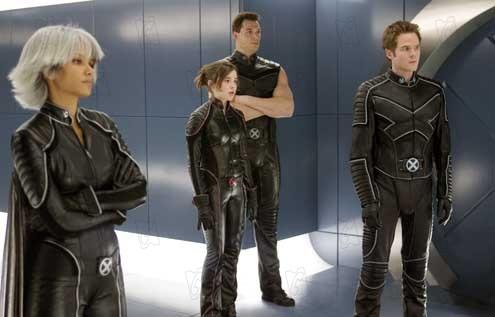 X-Men: Son Direnis : Fotograf Daniel Cudmore, Halle Berry, Shawn Ashmore
