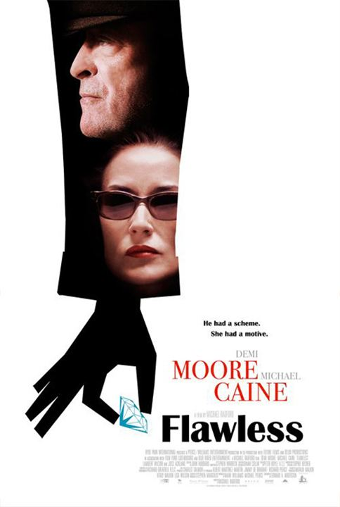 Kusursuz : Afis Demi Moore, Michael Caine