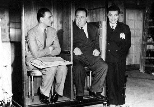 The Secret agent : Fotograf Alfred Hitchcock, John Gielgud, Peter Lorre