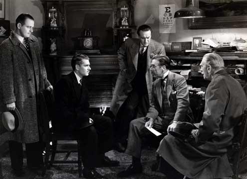 Rebecca : Fotograf George Sanders, Laurence Olivier, Leo G. Carroll
