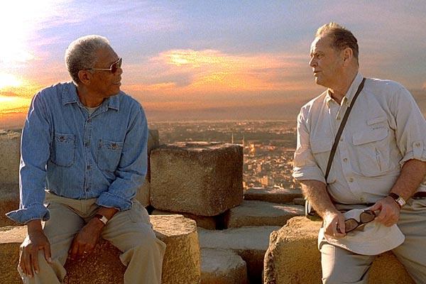 Simdi Ya da Asla : Fotograf Jack Nicholson, Morgan Freeman