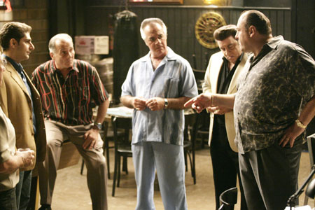The Sopranos : Fotograf James Gandolfini, Michael Imperioli, Tony Sirico