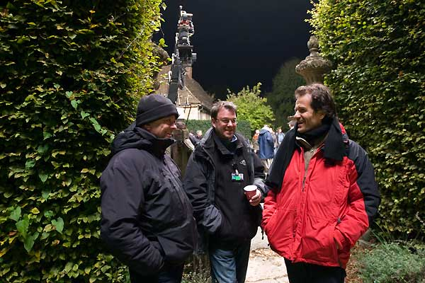 Harry Potter ve Melez Prens : Fotograf David Barron, David Heyman, David Yates