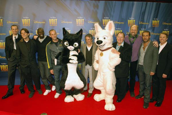 Bolt : Vignette (magazine) Byron Howard, Chris Williams, Clark Spencer, Fred Testot, Gilles Lellouche