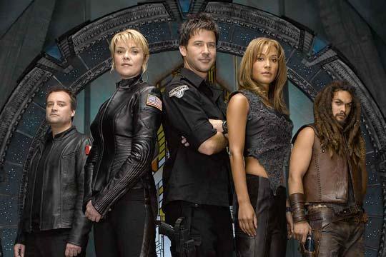 Stargate: Atlantis : Fotograf Amanda Tapping, David Hewlett, Jason Momoa, Joe Flanigan, Rachel Luttrell