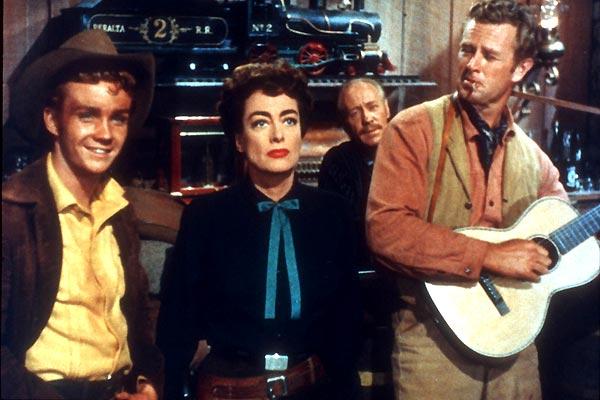 Fotograf Joan Crawford, Nicholas Ray, Sterling Hayden