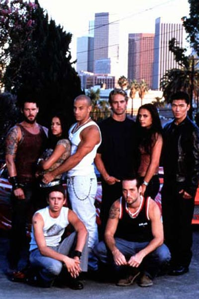 Hizli ve Öfkeli : Fotograf Chad Lindberg, Johnny Strong, Jordana Brewster, Matt Schulze, Michelle Rodriguez