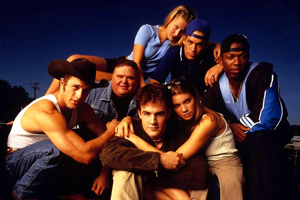 Varsity Blues : Fotograf Ali Larter, Amy Smart, Brian Robbins, James Van Der Beek, Paul Walker