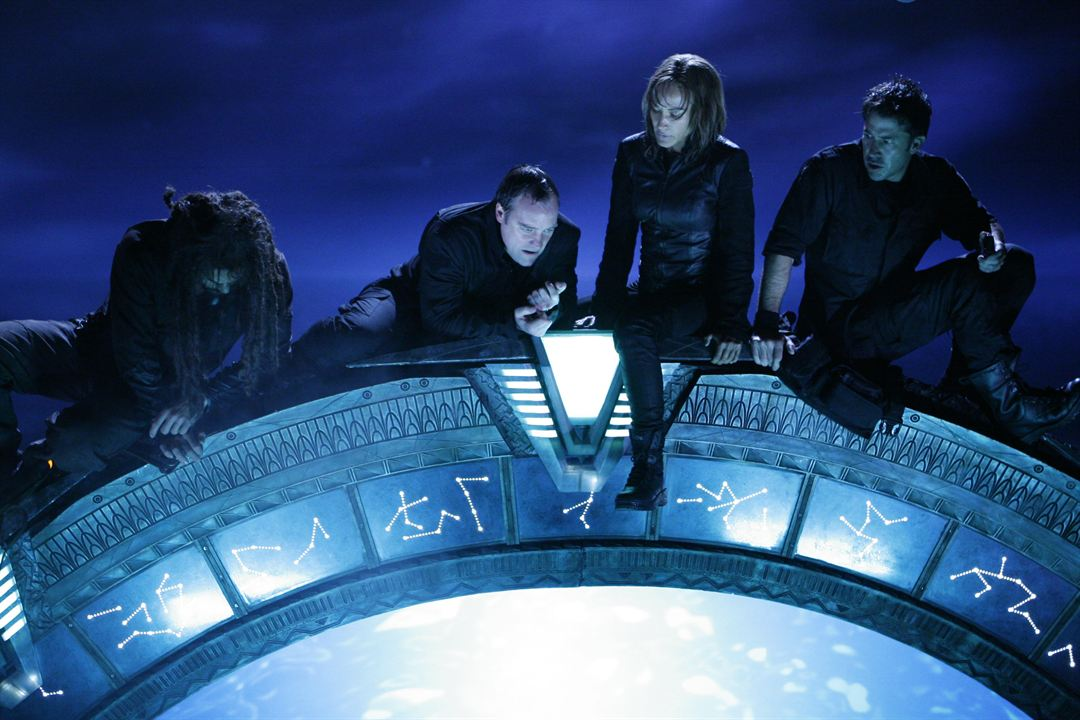 Stargate: Atlantis : Fotograf David Hewlett, Jason Momoa, Joe Flanigan, Rachel Luttrell
