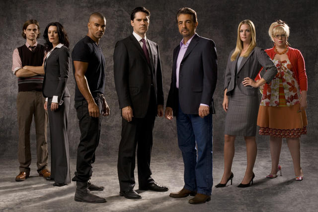 Criminal Minds : Fotograf A.J. Cook, Joe Mantegna, Kirsten Vangsness, Matthew Gray Gubler, Paget Brewster