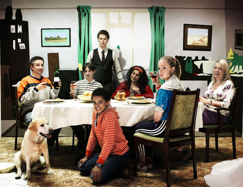 Beautiful People (UK) : Fotograf Aidan McArdle, Layton Williams, Meera Syal, Olivia Colman, Samuel Barnett