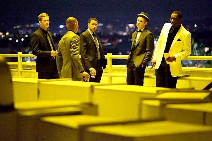 Takers : Fotograf Hayden Christensen, Idris Elba, Michael Ealy, Paul Walker