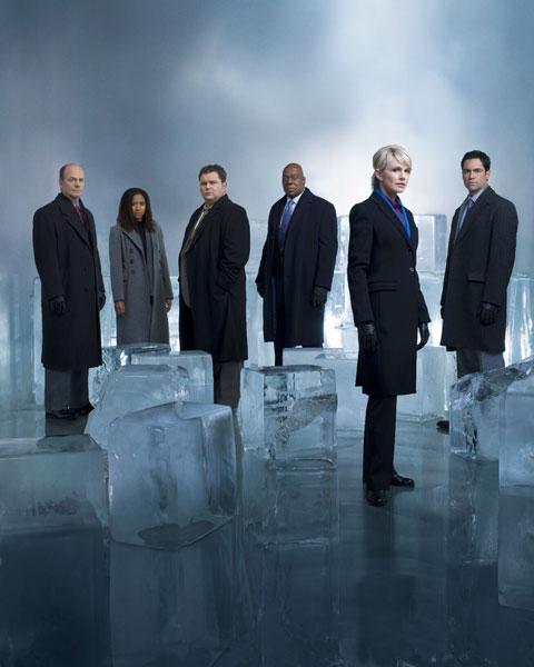 Cold Case : Fotograf Danny Pino, Jeremy Ratchford, John Finn, Kathryn Morris, Thom Barry